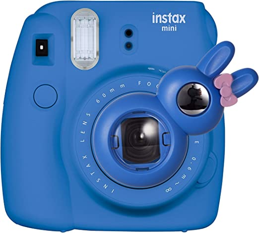 Blue CAIUL Camera Style Instax Close Up Lens with Self-portrait Mirror For Fujifilm Instax Mini 8 mini 7s Camera and Polaroid 300 - Fujifilm Instax Mini Selfie Lens
