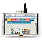 HDMI GPIO 5-Inch 800x480 TFT LCD Display with Touch Screen Monitor Display for Raspberry Pi