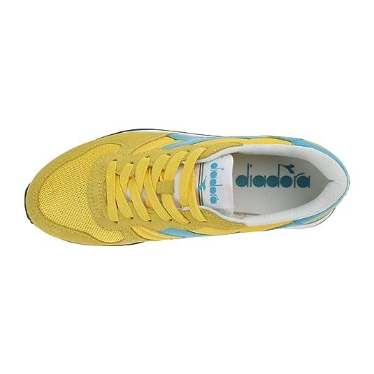 Diadora 15988601 Sneakers enfant Jaune et Céleste 4.5 9x5UvRcjW