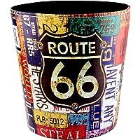 Corbeille à Papier, Finer Shop La Poubelle à Papier par Un Style Européen - Modèle de Route 66
