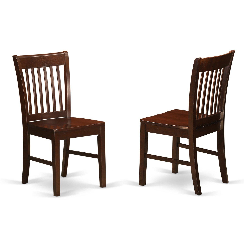 Mahogany Dining Room Furniture: Mahogany Dining Chairs: Amazon.com