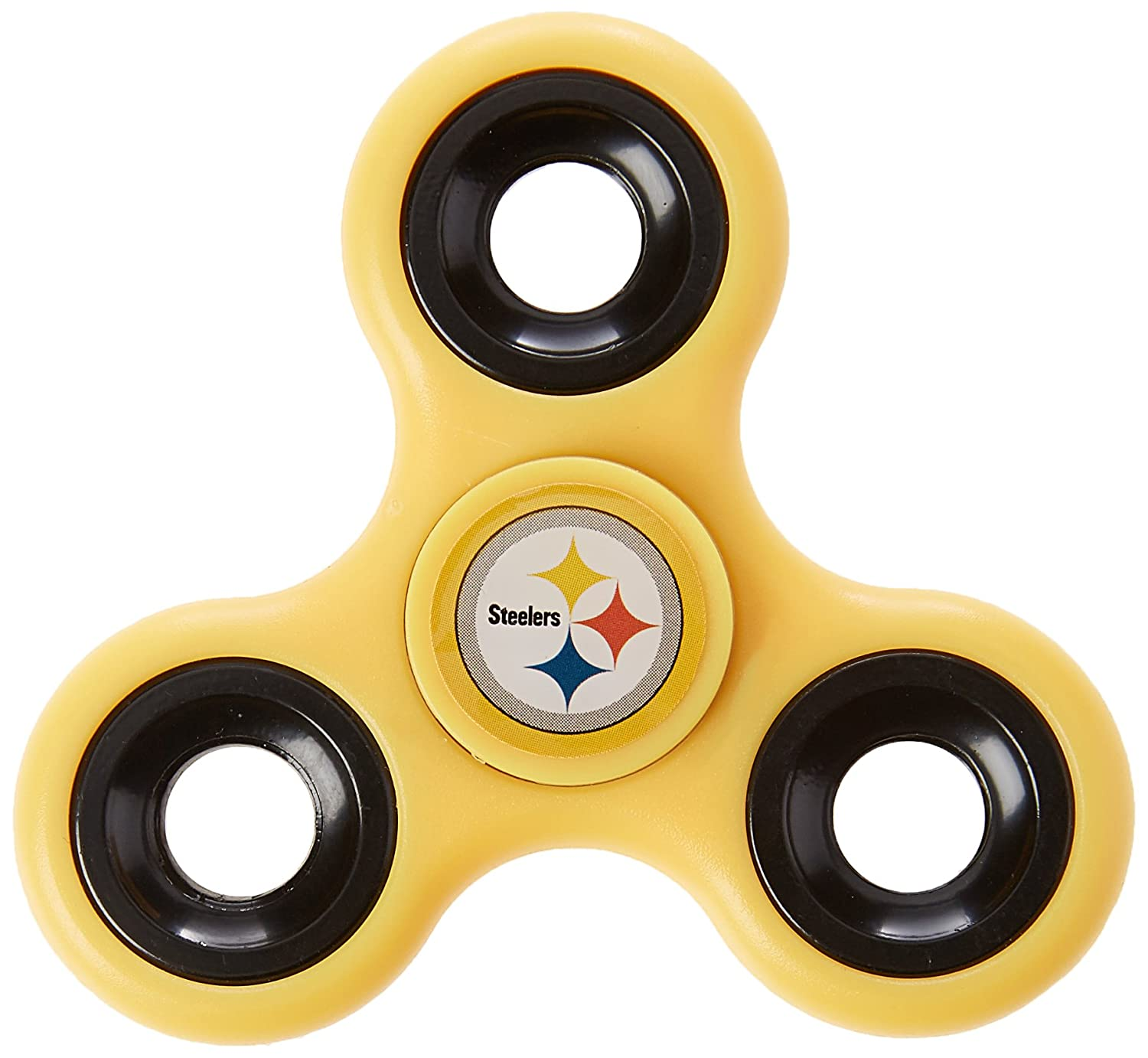 Pittsburgh Steelers Three Way Team Spinner Forever Collectibles FIDNFSPIN3TMPS