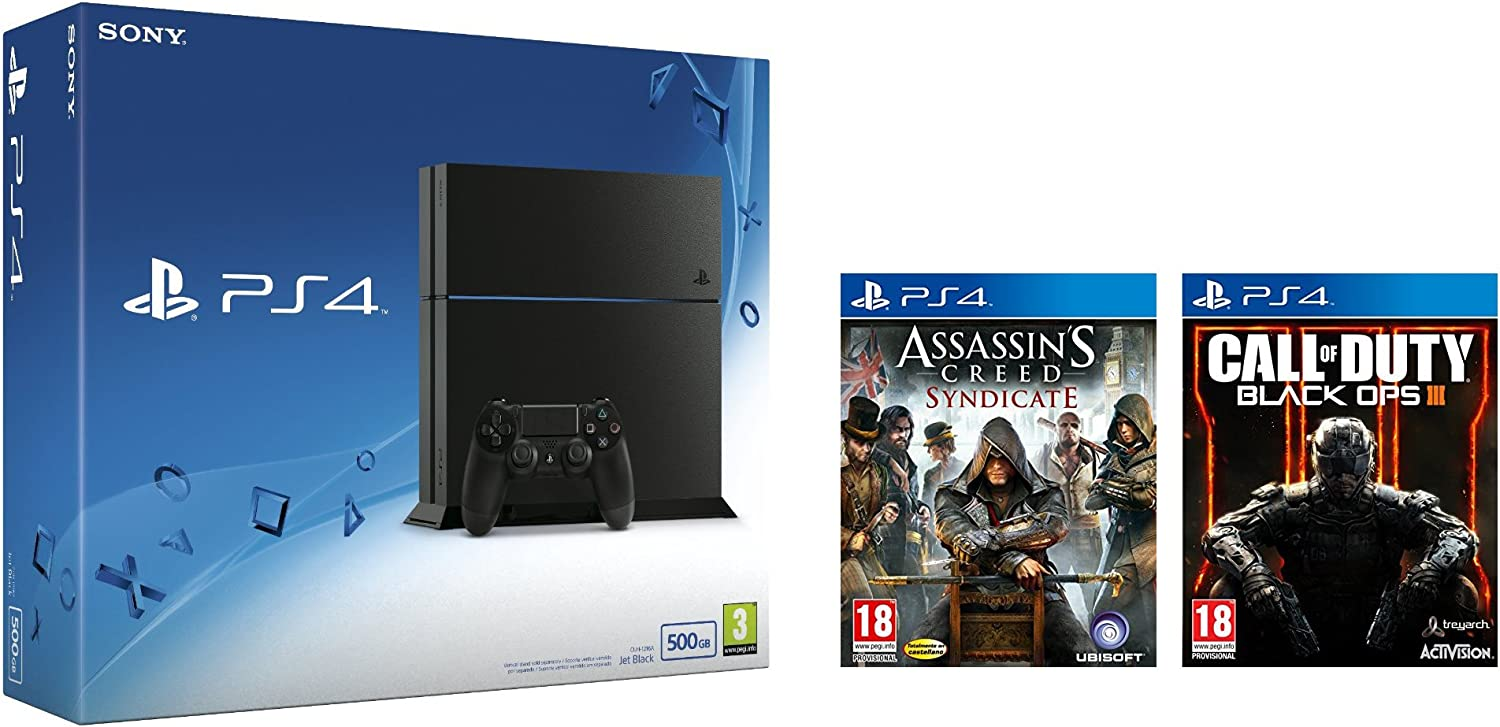 PlayStation 4 - Consola 500GB: Amazon.es: Videojuegos