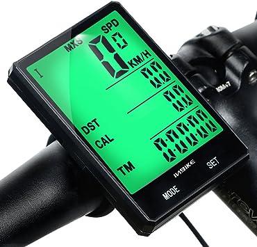 mishuo Ciclocomputador GPS para bicicleta cuentakilómetros ...