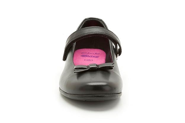 Clarks Filles Chaussures Daisy Meadow - Noir - Noir, 41.5 EU