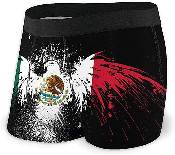 Web--ster Calzoncillos Boxer para Hombre Bandera de México Águila Banderas mexicanas Troncos Ropa Interior Calzoncillos Suaves Pantalones Cortos Calzoncillos: Amazon.es: Ropa y accesorios