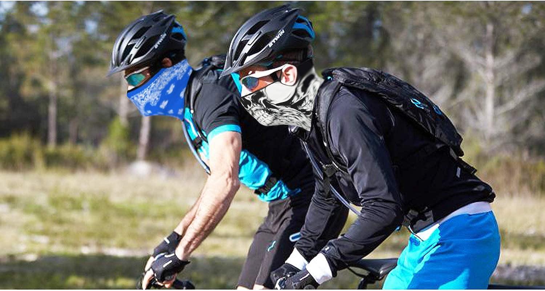 Gesichtsdekoration,Y-Ada-Upside Down Ananas Sturmhaube Sport Mundschutz Dekorative Gesichtsschal F/ür Camping Wandern Radfahren