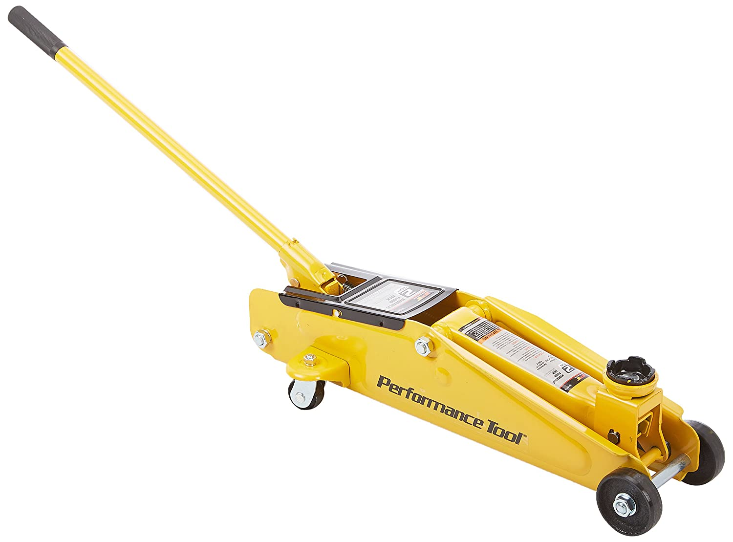 Performance tool w1614 floor jack with 15 inch lift 2 ton for 15 ton floor jack