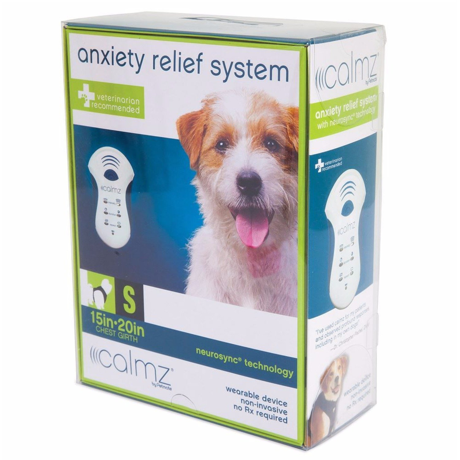 Petmate Calmz Anxiety Relief System for Dogs, Small
