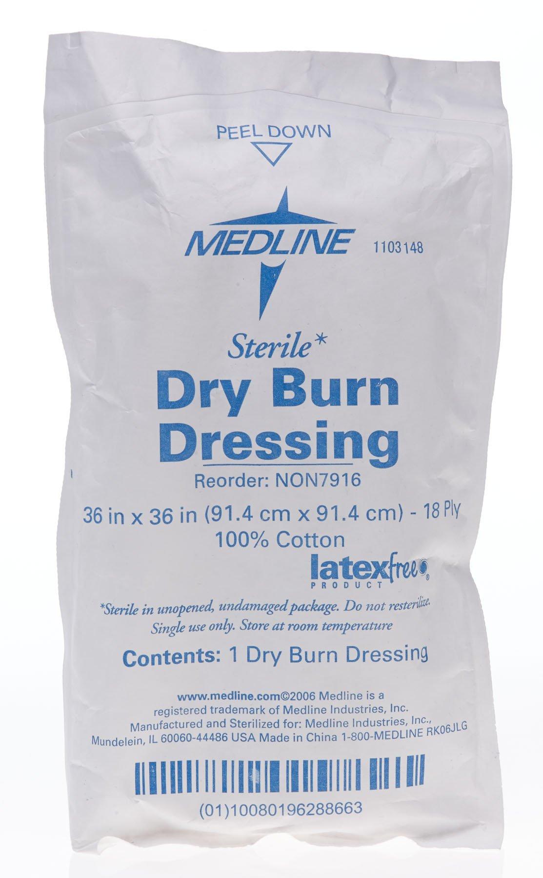 Medline NONEXDISC Sorbex Sterile Absorbent Dressing, 3'' Disc (Pack of 100)