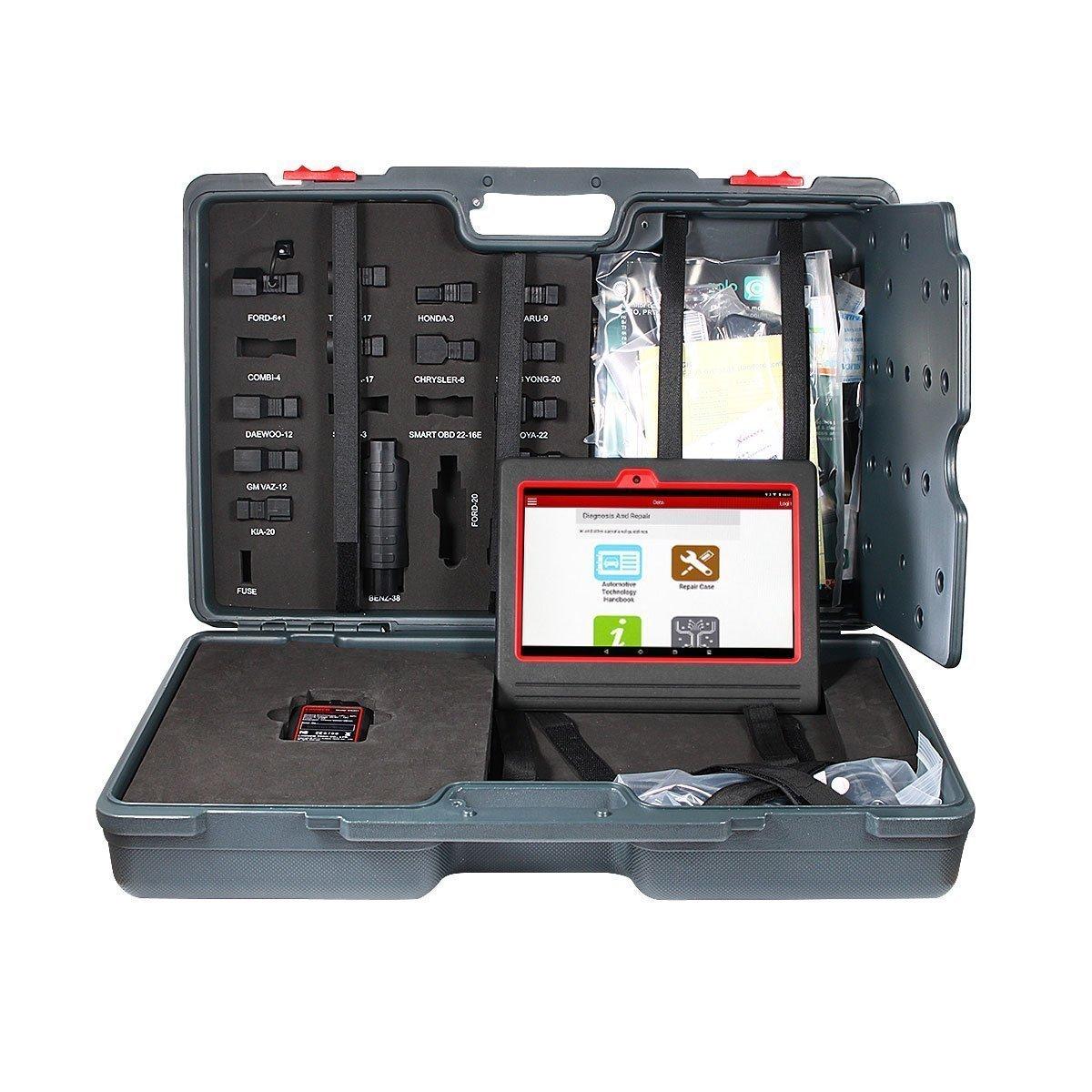 Borison LaunchX431V 8 故障診断機 全自動車モデルと全系統を診断 グローバル版 Wifi/Bluetooth 搭載タブレットシステム診断 スキャンツール  多車種対応 多言語(日本語含め)変換機能 アップデート オンライン一年品質年間保証 (X431 V8) B071F13HD9 X431 V8  X431 V8