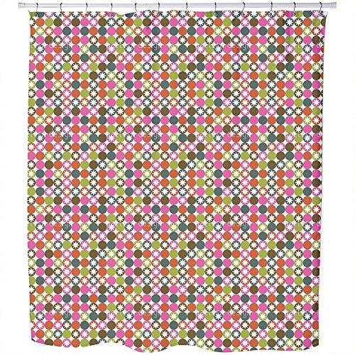 Star Bingo Shower Curtain: Large Waterproof Luxurious Bathroom Design Woven Fabric by uneekee