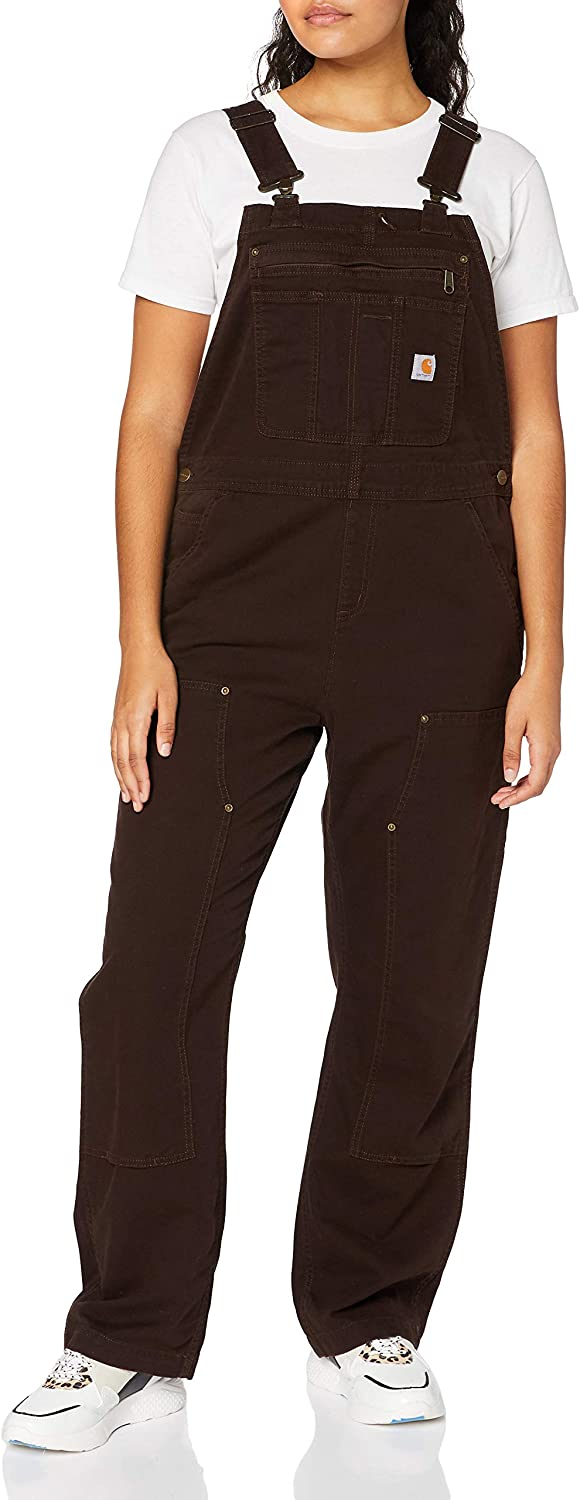 Carhartt Womens Womens Crawford Double Front Bib Overalls Overalls//Coveralls