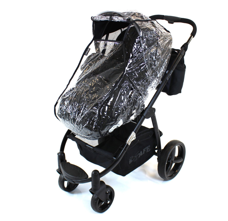 Jane Matrix Pram Stroller Raincover Professional Heavy Duty Rain Cover Baby Travel