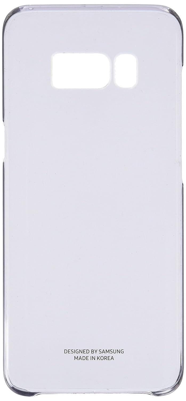 Samsung Clear Cover, Funda para smartphone Samsung Galaxy S8, Negro Transparente