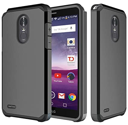 Amazon.com: LG Stylo 3 Case, LG Stylo 3 Plus Case, OEAGO Hybrid Shockproof Drop Protection Impact Rugged Case Armor Cover for LG Stylo 3 / LG Stylo 3 Plus ...