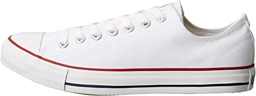 Converse Unisex Chuck Taylor All Star Ox Sneakers Optical White M7652