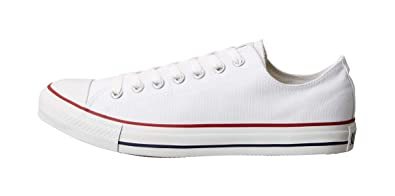 Converse Unisex Chuck Taylor All Star Ox Basketball Shoe (7.5 B(M) US Women 5.5 D(M) US Men, Optical White)