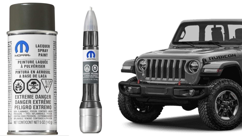 Mopar PXF Hard TOP Freedom TOP 2018 Jeep JL Wrangler Touch Up Paint Genuine 5 oz Aerosol Spray can 68060406AB