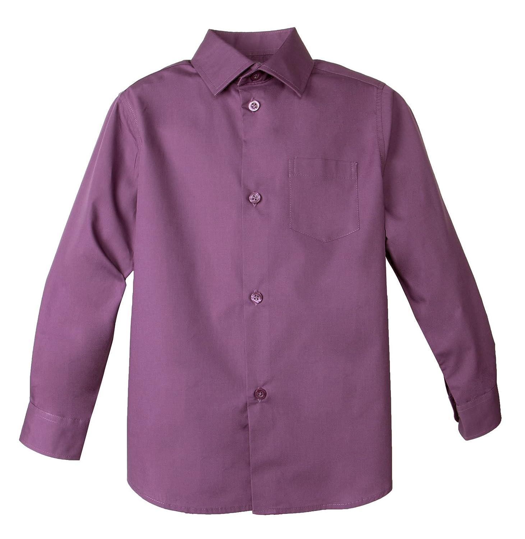 Spring Notion Big Boys' Long Sleeve Dress Shirt ERF868N-SNS-868N