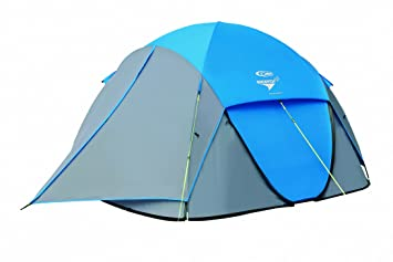 Gelert Quick Pitch DS 4 Man Tent - Marine Blue/Paloma Grey  sc 1 st  Amazon UK : quick pitch tents - memphite.com