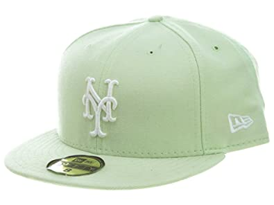 fc777db55a9 New Era New York Mets Fitted Green White 39 Style  HAT-39-