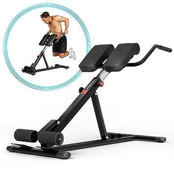 Sportstech BRT150 Entrenador de espalda y abdomen 6en1; ergonómico y ajustable; sistema único de