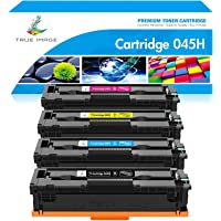 True Image Compatible Toner Cartridge Replacement for Canon 045 045H MF634Cdw Toner Canon Color ImageCLASS MF634Cdw…