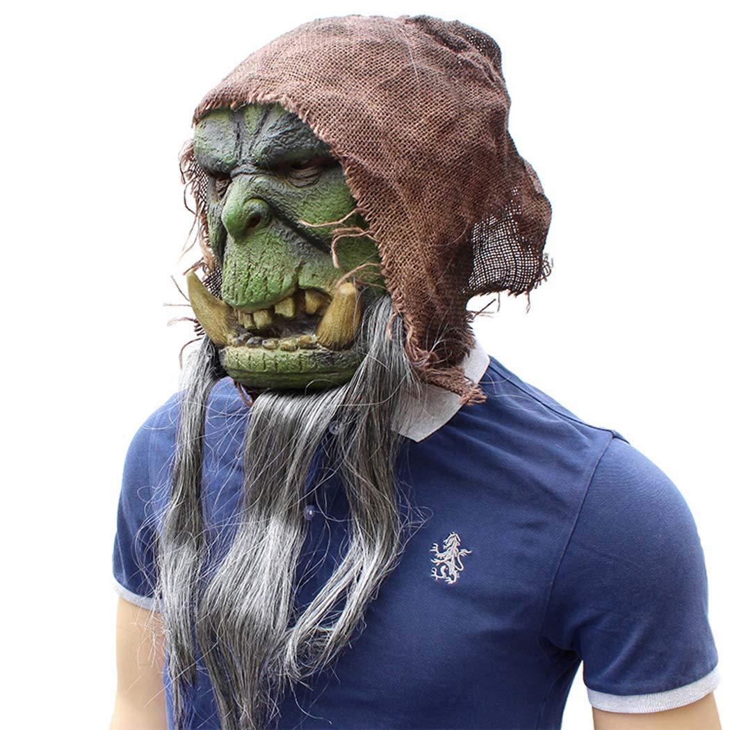 Halloweenmaske Erwachsene Latex Halloween Scary Maske Pest Doktor Doktor Doktor Maske,Grün,OneGröße 161a16