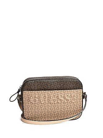 8c939abee5e2 Amazon.com  GUESS Factory Women s Rigden Logo-Print Camera Bag  Clothing