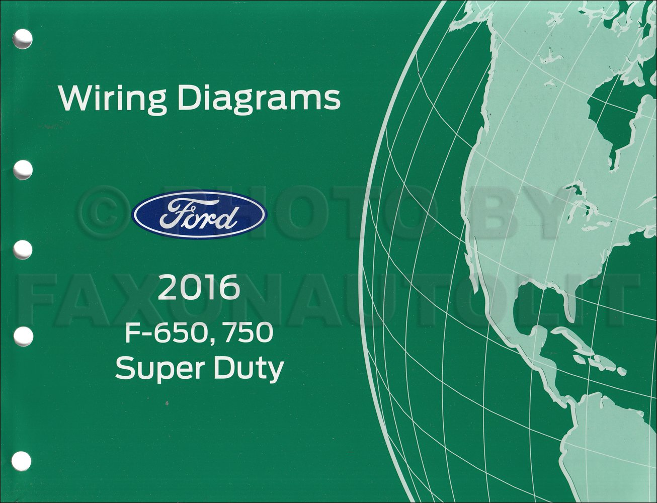 2016 Ford F-650 and F-750 Super Duty Truck Wiring Diagram Manual Original:  Ford: Amazon.com: Books | Ford F 750 Wiring Diagram |  | Amazon.com