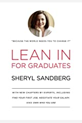 Lean In for Graduates Kindle Edition