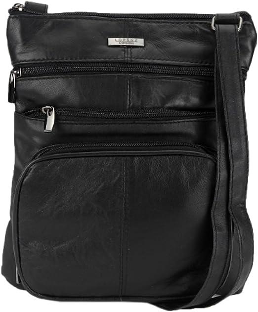 Black Leather Shoulder Bag Leather bag KF-3564 Women/'s Leather Crossbody Bag Leather Cross body Bag
