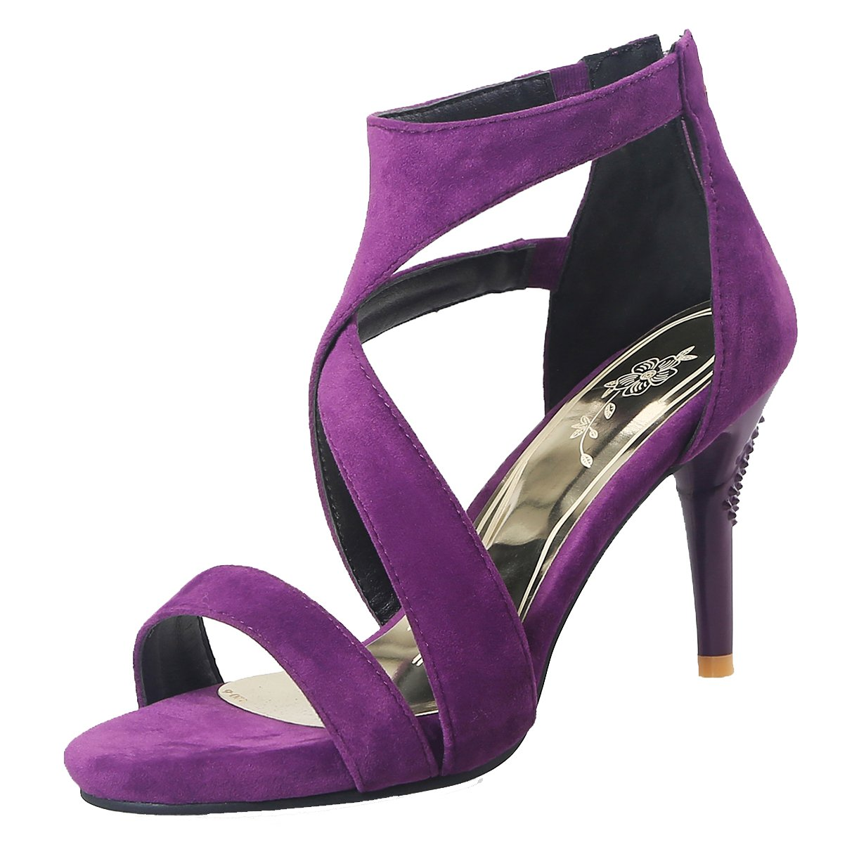 JYshoes Spartiates Femme Femme Spartiates B07BFDDP9F Lilas 9a31862 - piero.space