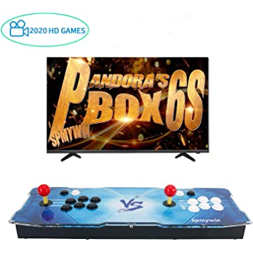 Best Gaming Console 2020 Amazon.com: PinPle Arcade Game Console 1080P 3D & 2D Games 2020 in