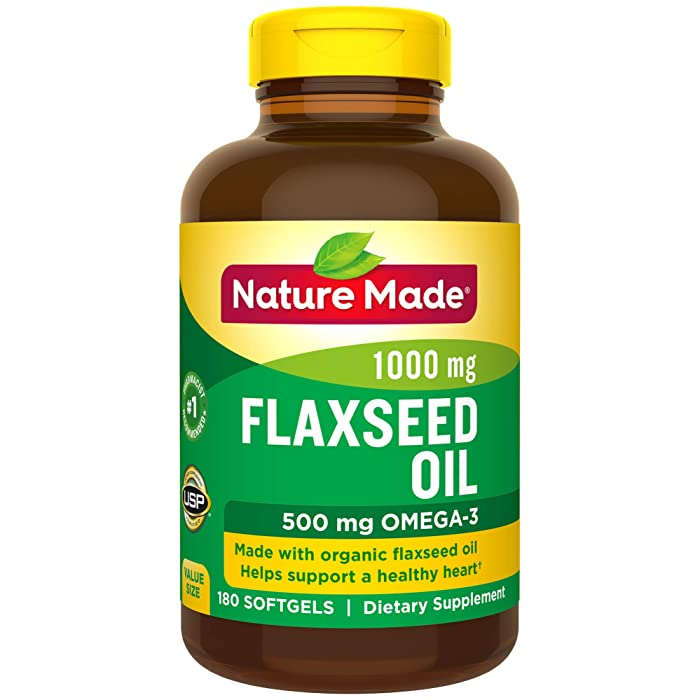 Top 9 Nature Made Flaxseed Oil 1000 Mg
