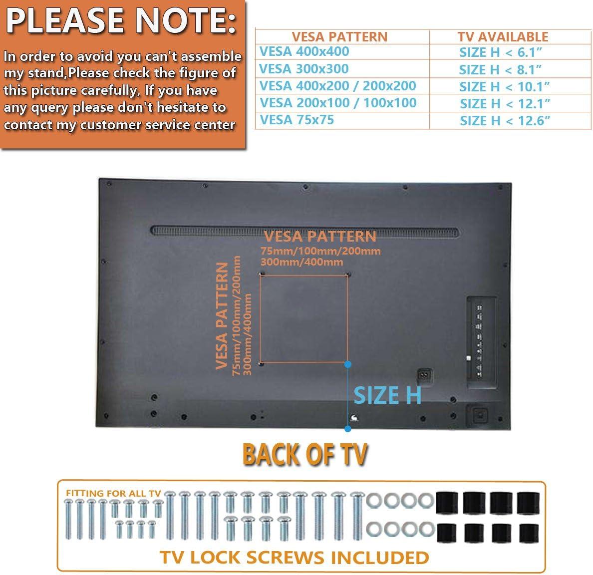 Soporte giratorio universal para TV de 21 a 47 pulgadas con giro ...