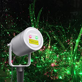 poeland christmas laser light moving firefly outdoor projector - Laser Lights For Christmas Outdoors