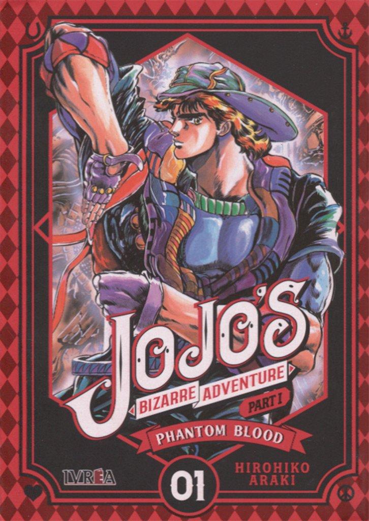 Jojos Bizarre Adventure Parte 1: Phantom Blood 1: Amazon.es: Hirohiko Araki, Pablo Tschopp: Libros