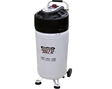 Autojack - Compresor de aire vertical de 50litros (sin aceite)