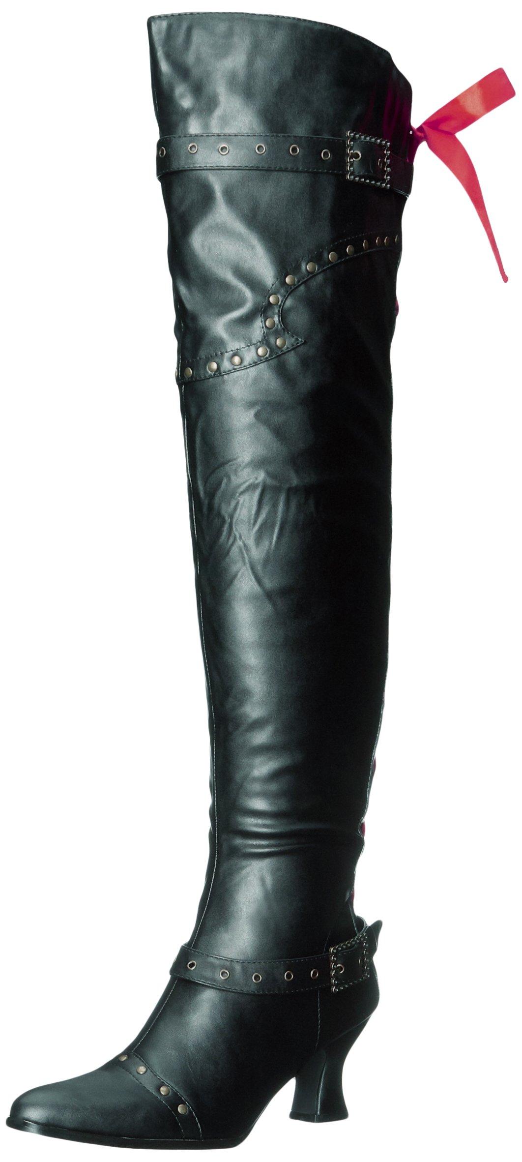 Ellie Shoes Women's 253-Treasure Boot, Black, 10 M US by Ellie Shoes