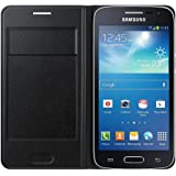 Samsung EF-WG386BB Etui à rabat pour Samsung Galaxy Core 4G G386 Noir