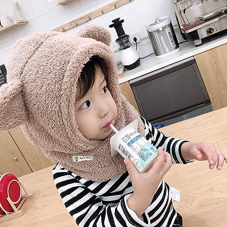 Tukistore Cagoule Calotte Automne Hiver Bonnet Cache Cou Enfant Cagoule Bébé  Garçon Fille Cache Oreilles Capuche Chapeaux  Amazon.fr  Cuisine   Maison 1467c937160
