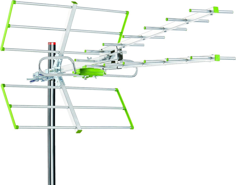 Antena HDTV Digital de Alta definición amplificada para ...
