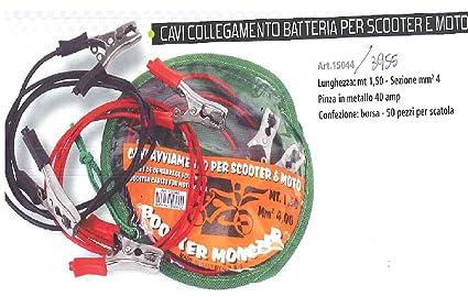 Xplorer - Juego de Cables para batería de Moto, Accesorios para Moto Scooter