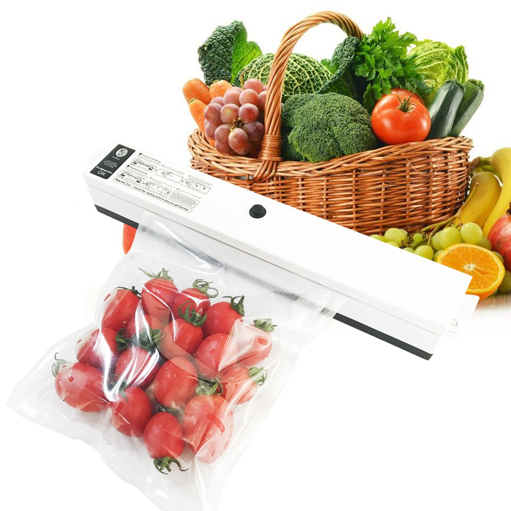 Kuger Professional Vacuum Sealer Compact Size, Automatic Vacuum Sealing System For Food Preservation by Kuger