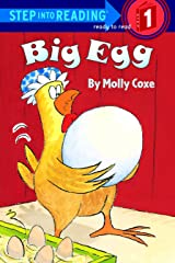Big Egg (Step-Into-Reading, Step 1) Paperback