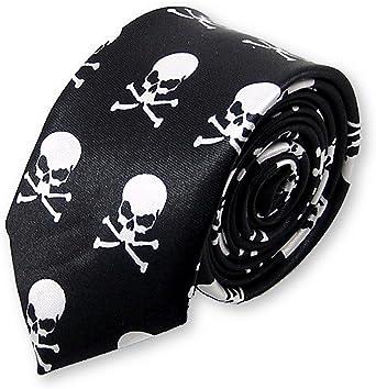 Cravate tête de mort 12
