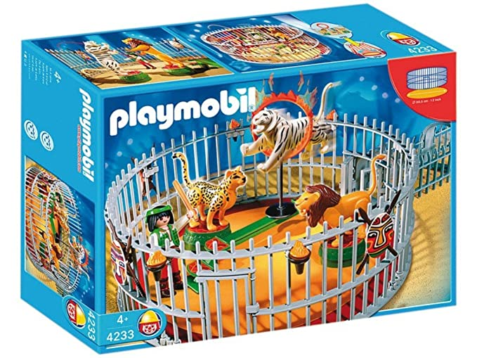 Playmobil 4233 - City Life Domador - Jaula de leones: Amazon.es ...