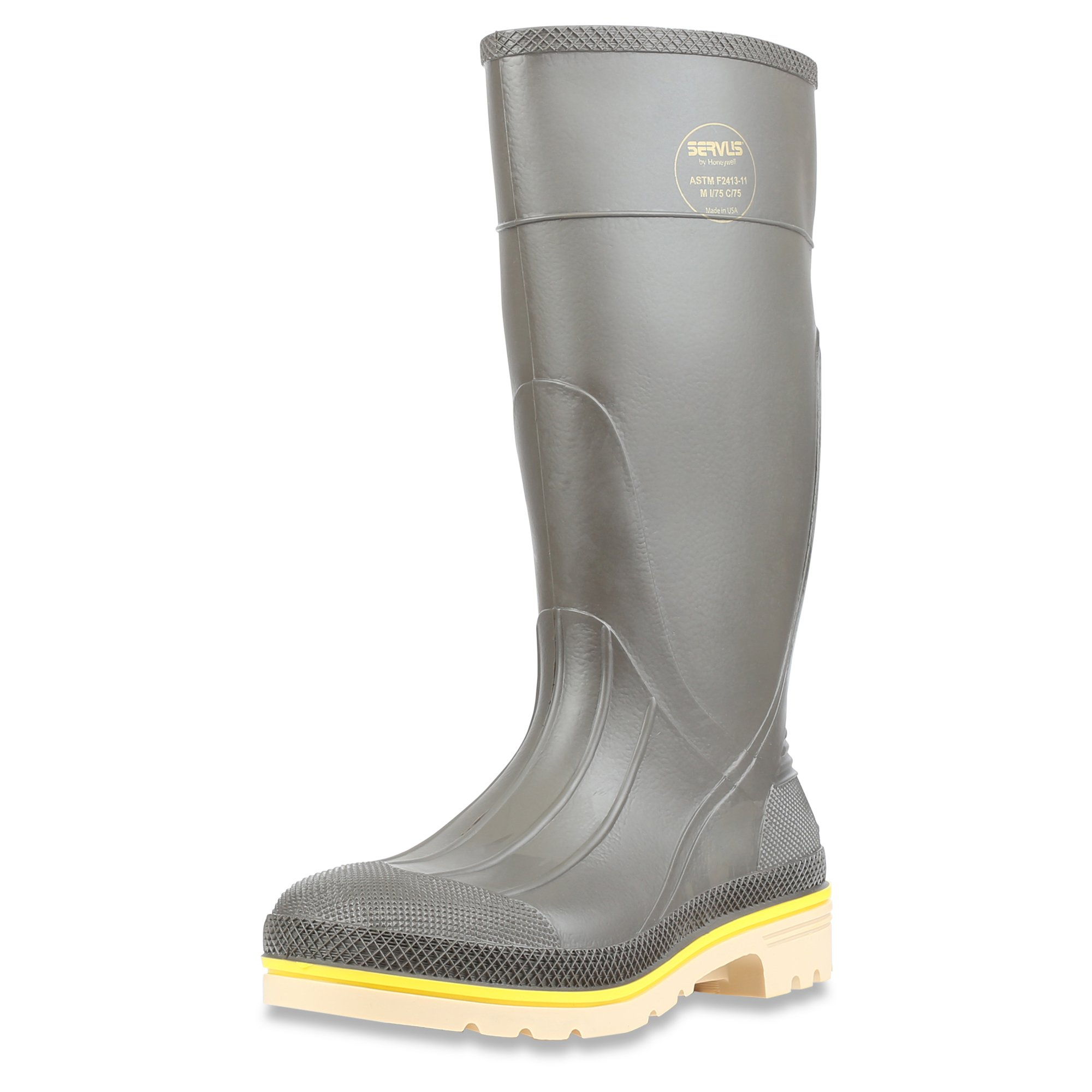 "Servus Pro+ 15"" PVC Chemical-Resistant Steel Toe"